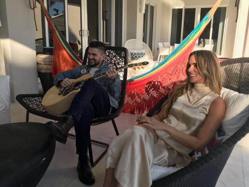 Juanes y su esposa Karen, entrevista Despierta América