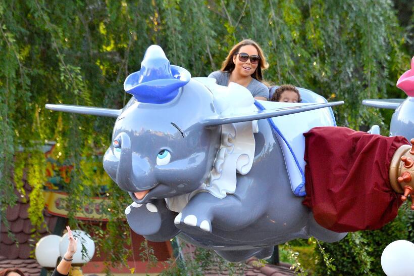 Mariah Carey y sus hijos