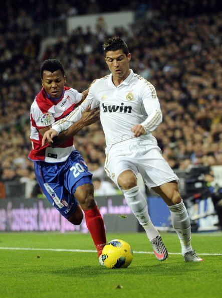 Mientras que Cristiano Ronaldo no podía anotar su gol.