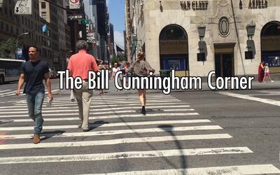 ¿Qué veía Bill Cunningham en su esquina favorita?