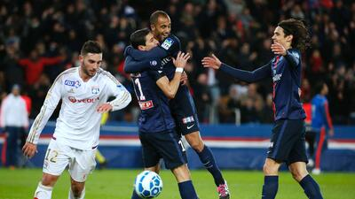 PSG se metió a semifinales de Copa Francesa