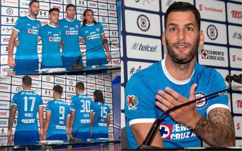 Chivas y Cruz Azul presentan uniformes elegantes para el Apertura 2017 C...
