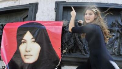 Sakineh Mohammadi Ashtiani, de 43 años, fue condenada en 2006 a 10 años...