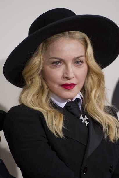 Se trata de Madonna, le hicieron falta algunas arruguitas.