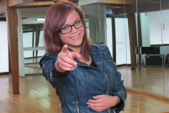 Ana Cristina en sesión de fotos tras nuestra entrevista para los perfiles.