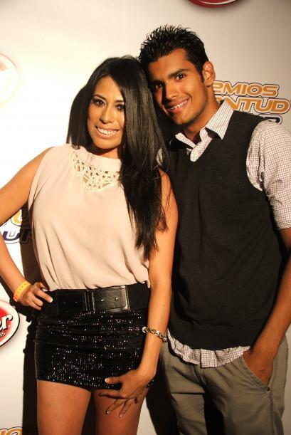 Aquí captamos nuevamente a Brenda y a Darío de Univision Radio.