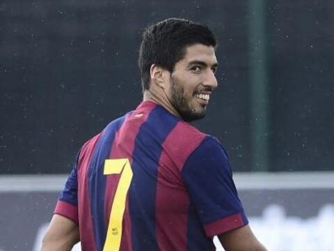 El próximo sábado Luis Suárez podría volver...