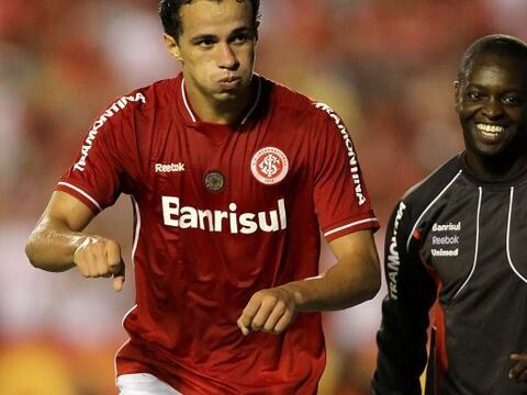 El Inter de Porto Alegre, actual campeón de la Libertadores, venc...