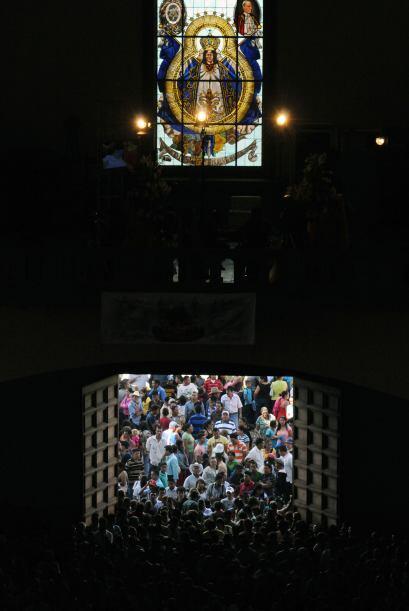 La Virgen Morena o Santa María de Concepción de Suyapa fue declarada pat...