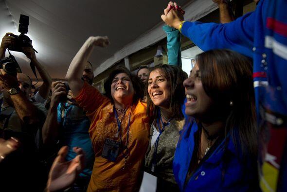 """""""¡Sin palabras, completamente feliz!"""", dijo Alejandra Ochoa, una trabaja..."""
