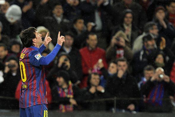 Messi sumó un nuevo 'Hat-Trick' para su carrera exitosa.