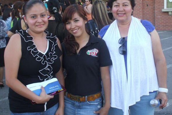 Jenni Rivera se presentó en El Paso, TX este 7 de mayo.