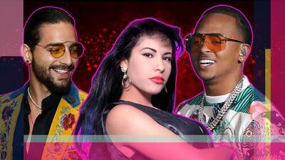 No se conocieron, pero Maluma y Ozuna comparten hoy un logro con Selena Quintanilla (🙌)