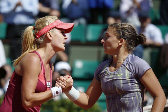 Errani hizo lo suyo pero con más facilidad ante la polaca Agnieszka Radw...