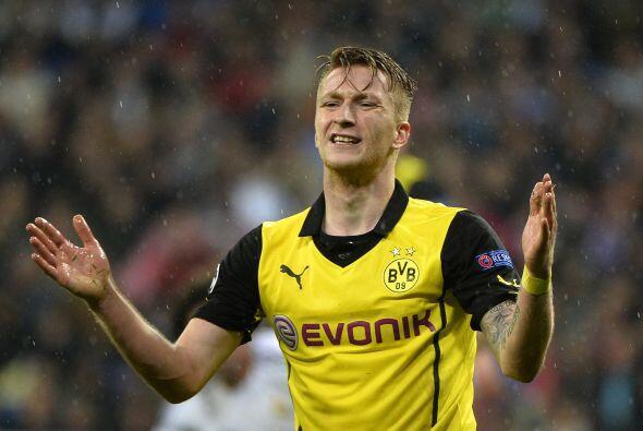 Mientras todo era felicidad con los blancos, el Borussia estaba derrumbado.