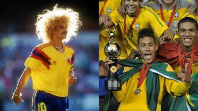 Grandes figuras del fútbol mundial que disputaron Sudamericano Sub-20
