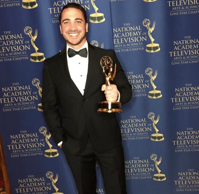 El equipo de Univision Dallas KUVN celebra sus premios Emmy Lone Star 20...