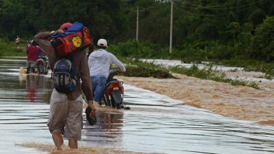 Inundaciones en Beni, Bolivia.
