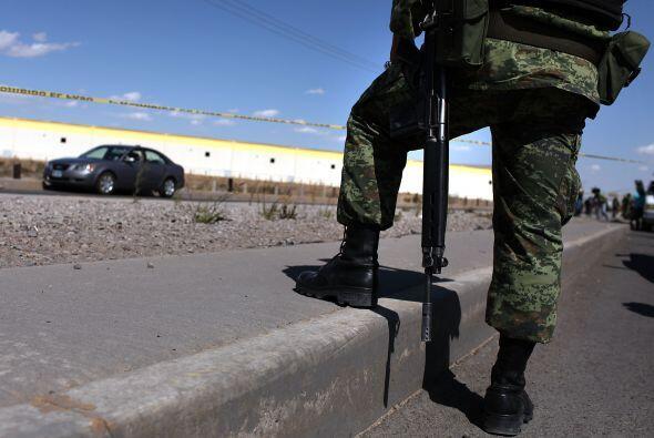 A pesar de la sangrienta guerra contra el narcotráfico al otro lado de l...
