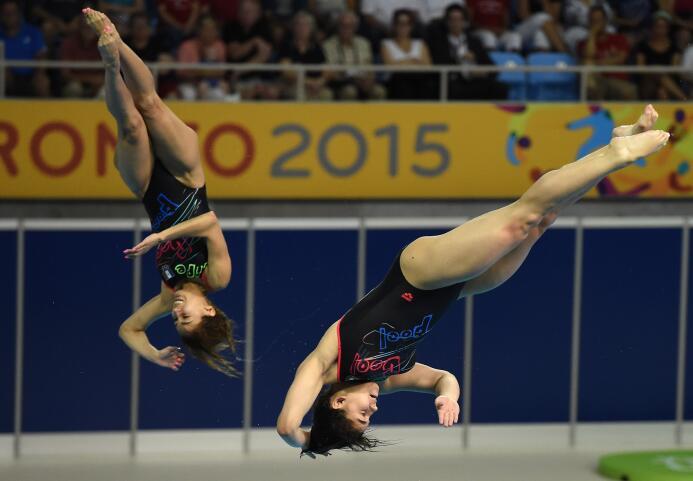 Espinosa y Alejandra Orozco lograron la medalla de bronce con una califi...