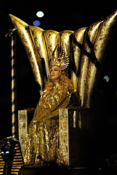 Madonna, 'La Reina del Pop', amenizó de forma espectacular el med...