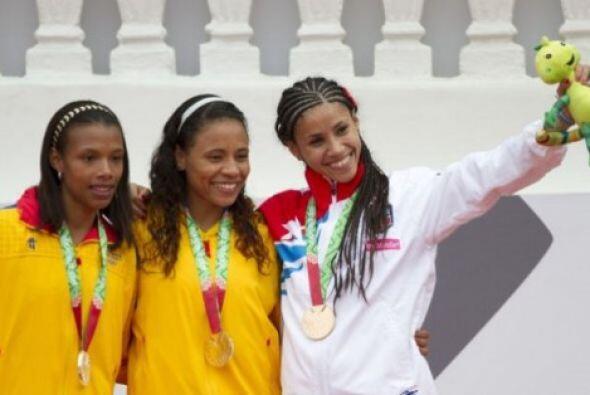 Las colombianas Ángela María Figueroa y Muriel Coneo se hicieron de las...