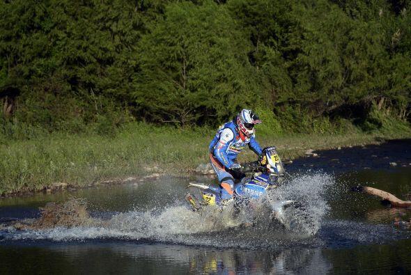 El piloto de motos francés Alain Duclos (Sherco) se adjudic&oacut...