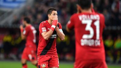 Bayer Leverkusen y 'Chicharito' caen ante el Werder Bremen