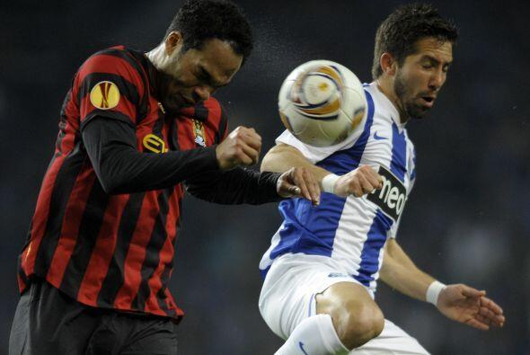Pero no fue el único equipo de Manchester que vio acción en la Liga Euro...