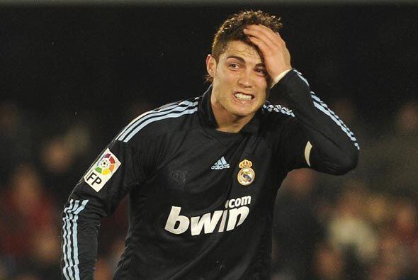 Se complicó el Madrid en el primer tiempo. Falló todas las oportunidades...