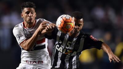 Sao Paulo firma una ligera ventaja ante el Atlético Mineiro en la ida de cuartos
