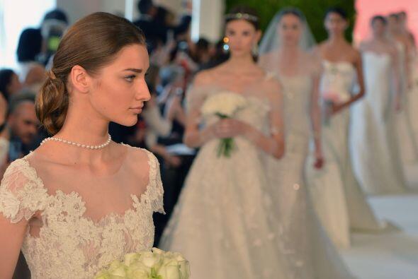 Según sus propias declaraciones, el vestido de novia es la prenda más im...