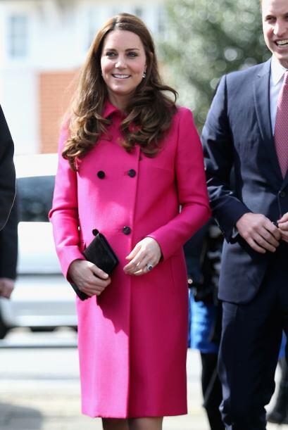 Y es que Kate ya se prepara para dar a luz a su segundo bebé.