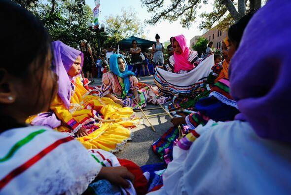 En San Marco, Texas, las celebraciones incluyen una competencia de cocin...