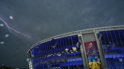 Donbass Arena: de estadio Champions a centro de acopio de ayuda humanitaria