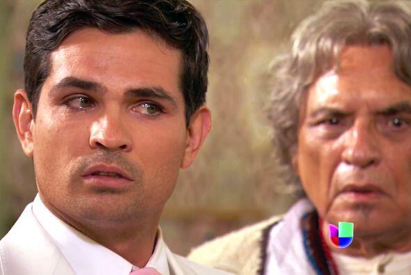 ¿Qué le dijo Melitón? Diego está muy alterado.