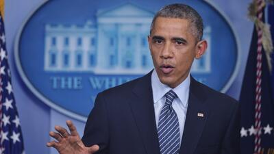 Obama pide al país aceptar la decisión en Ferguson