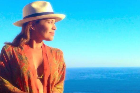 Karla extrañando desde ya los atardeceres en Capri.
