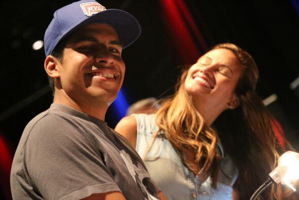 Celebración de Omar y Argelia en USH