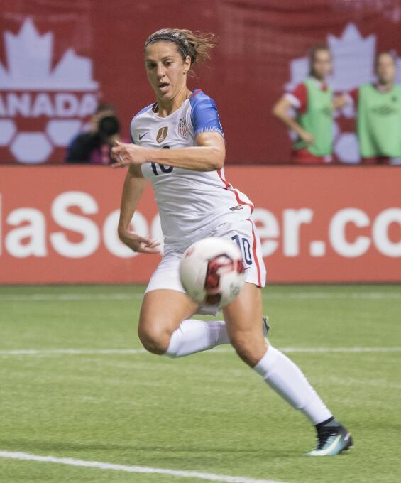 4. Carli Lloyd (Estados Unidos / Manchester City) - 78 puntos