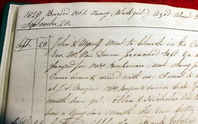 Los relatos de este diario de 1828 han alentado pedido para que se excav...