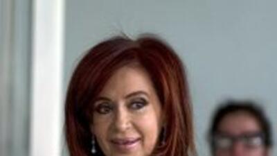 La presidenta de Argentina, Cristina Kirchner.