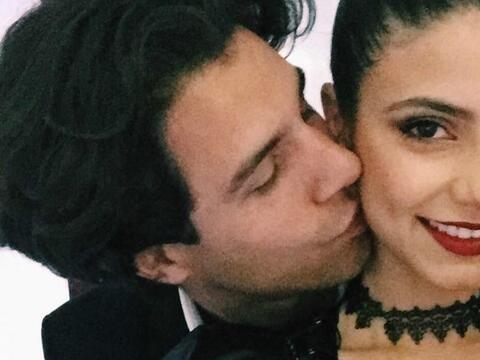 Los actores Bárbara López y Luciano Zacharski hicieron p&u...