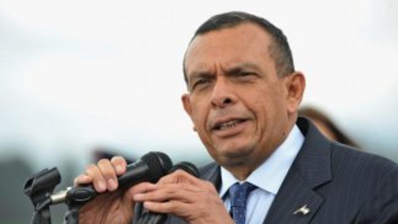 El presidente de Honduras, Porfirio Lobo, dijo que pese a los planes de...