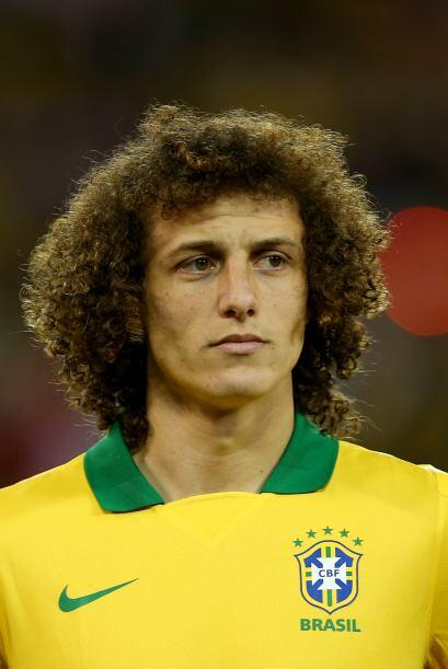 David Luiz:El defensa del pentacampeón mundial luce una cabellera...