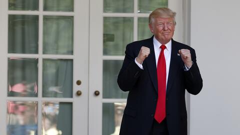 Donald Trump, presidente de EEUU.