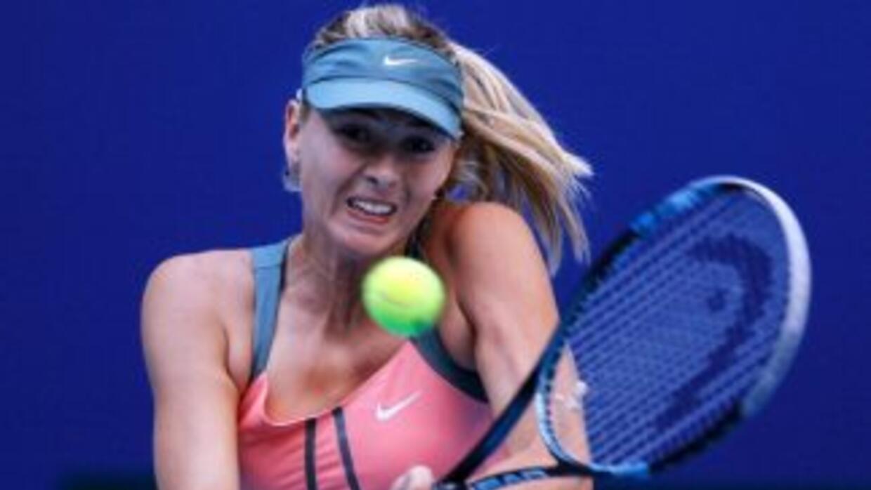 Maria Sharapova, actual número dos del ránking WTA, superó fácilmente a...