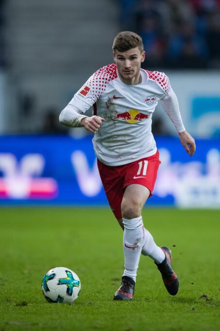 14. Timo Werner (RB Leipzig): el delantero alemán sigue en subiendo su n...