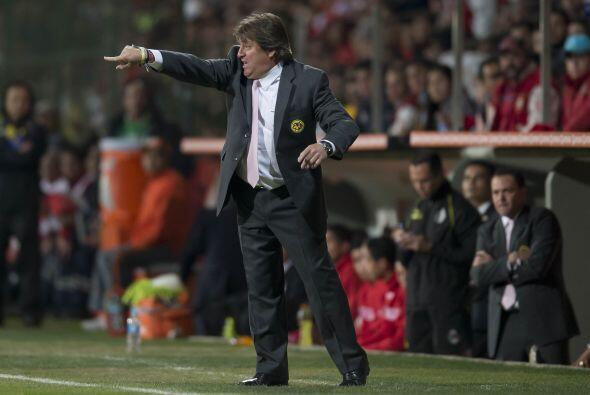 A 10 minutos del final del partido los reclamos de Herrera hicieron que...