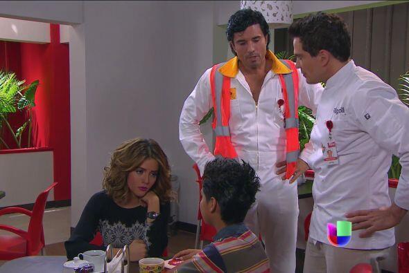 Y Armando está muy contento, le fascina ver a su hijo feliz.